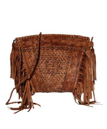 Shoulderbag with fringes